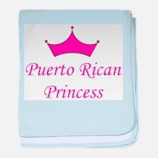 Puerto Rican Princess baby blanket