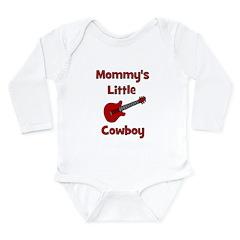 Mommy's Little Cowboy Long Sleeve Infant Bodysuit