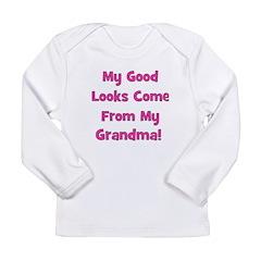 Good Looks from Grandma - Pin Long Sleeve Infant T