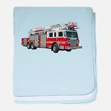 Firetruck Design baby blanket