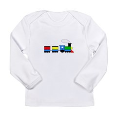 TRAIN Email to Personalize Long Sleeve Infant T-Sh