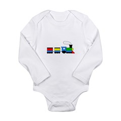 TRAIN Email to Personalize Long Sleeve Infant Body