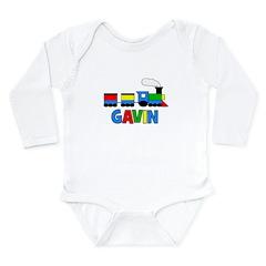 Train - GAVIN Personalized Cu Long Sleeve Infant B