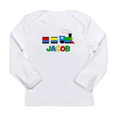 Train - JACOB Personalized Cu Long Sleeve Infant T