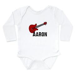 Guitar - Aaron Long Sleeve Infant Bodysuit