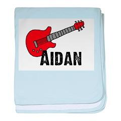 Guitar - Aidan baby blanket