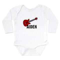 Guitar - Aiden Long Sleeve Infant Bodysuit