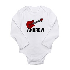 Guitar - Andrew Long Sleeve Infant Bodysuit