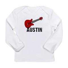 Guitar - Austin Long Sleeve Infant T-Shirt