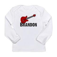 Guitar - Brandon Long Sleeve Infant T-Shirt