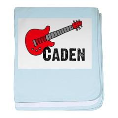 Guitar - Caden baby blanket