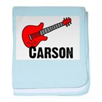 Guitar - Carson baby blanket