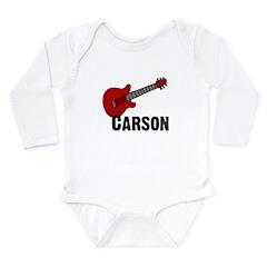 Guitar - Carson Long Sleeve Infant Bodysuit