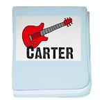 Guitar - Carter baby blanket