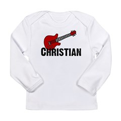Guitar - Christian Long Sleeve Infant T-Shirt