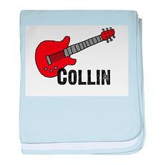 Guitar - Collin baby blanket