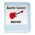 Auntie (Aunt) Connie Rocks baby blanket