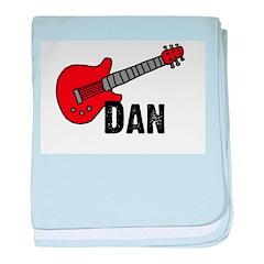 Guitar - Dan baby blanket