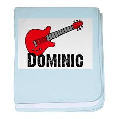 Guitar - Dominic baby blanket