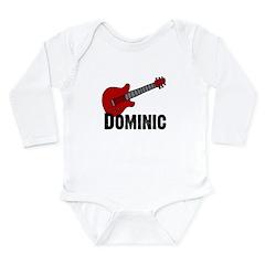 Guitar - Dominic Long Sleeve Infant Bodysuit