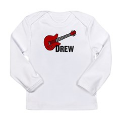Guitar - Drew Long Sleeve Infant T-Shirt