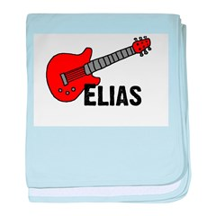 Guitar - Elias baby blanket