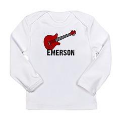 Guitar - Emerson Long Sleeve Infant T-Shirt