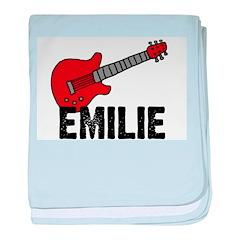 Guitar - Emilie baby blanket