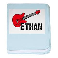 Guitar - Ethan baby blanket