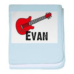 Guitar - Evan baby blanket