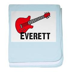 Guitar - Everett baby blanket