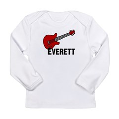 Guitar - Everett Long Sleeve Infant T-Shirt