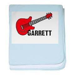 Guitar - Garrett baby blanket