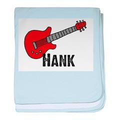 Guitar - Hank baby blanket