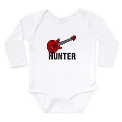 Guitar - Hunter Long Sleeve Infant Bodysuit