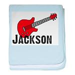 Guitar - Jackson baby blanket