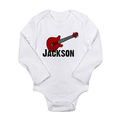 Guitar - Jackson Long Sleeve Infant Bodysuit