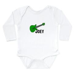 Guitar - Joey Long Sleeve Infant Bodysuit