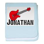 Guitar - Jonathan baby blanket