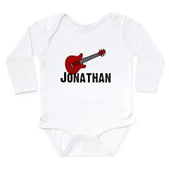 Guitar - Jonathan Long Sleeve Infant Bodysuit