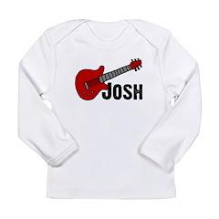 Guitar - Josh Long Sleeve Infant T-Shirt