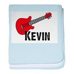 Guitar - Kevin baby blanket