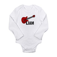 Guitar - Liam Long Sleeve Infant Bodysuit