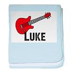 Guitar - Luke baby blanket