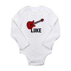 Guitar - Luke Long Sleeve Infant Bodysuit