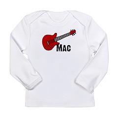 Guitar - Mac Long Sleeve Infant T-Shirt