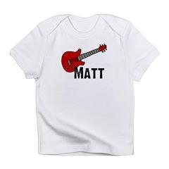 Guitar - Matt Infant T-Shirt