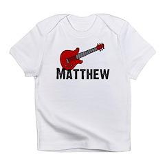 Guitar - Matthew Infant T-Shirt