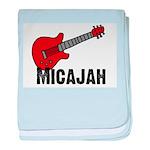 Guitar - Micajah baby blanket