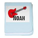 Guitar - Noah baby blanket